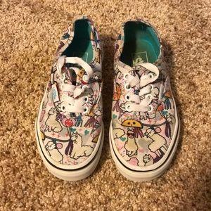 Girls Vans shoes